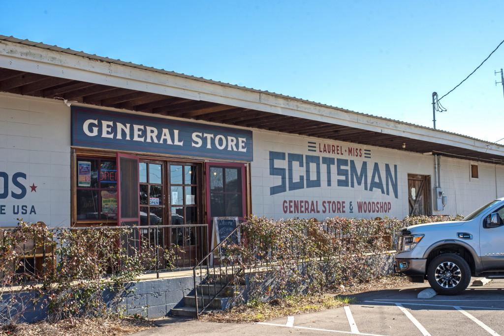 Scotsman General Store in Laurel Mississippi
