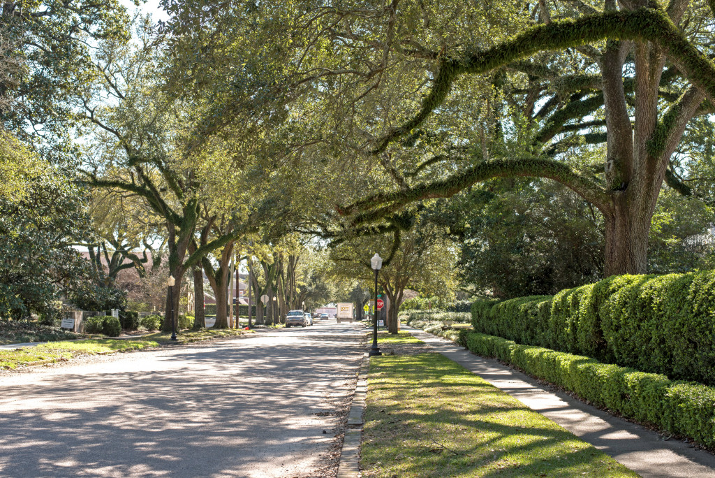 walking tour of Laurel Mississippi