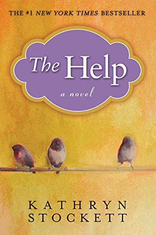 Book cover of The Help. One of our favorite books set in the south.