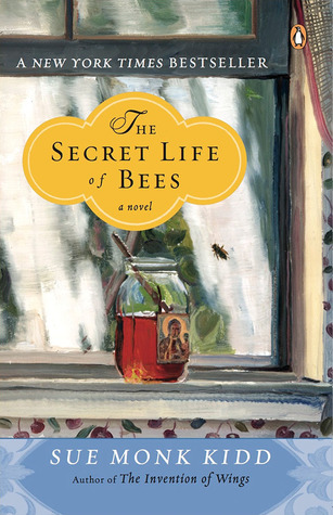 Cover page of The Secret Life of Bees. One of the best books set in the south.