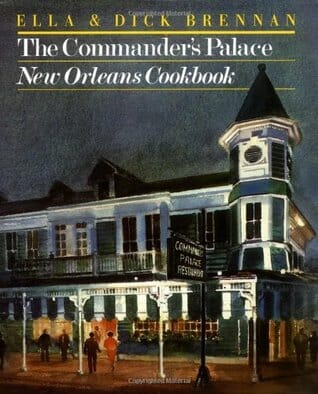 Cover of the Commander's Palace new orleans cookbook. This is an older book that still has some great recipes. One of the essential southern cookbooks.