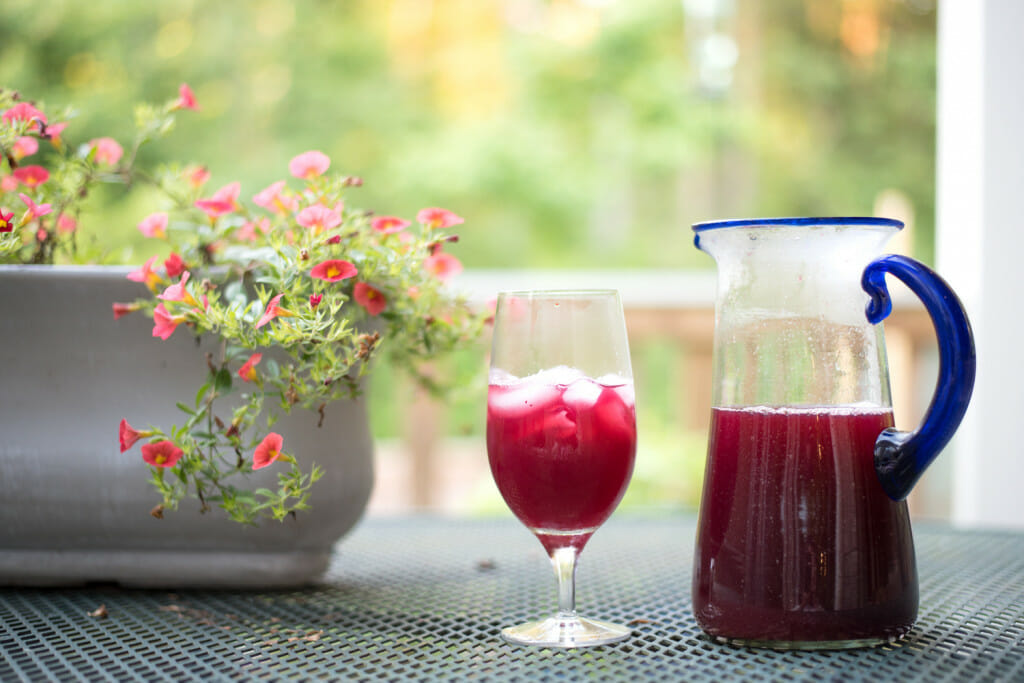 blueberry lemon iced tea is a great recipes with blueberries. One of our favorites! So refreshing!