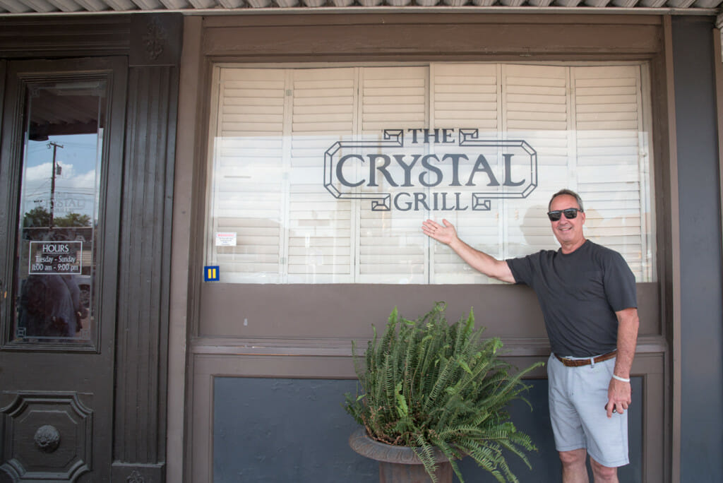 The Crystal Grill in Greenwood, Mississippi is famous for their huge pies! Travel Guide to Greenwood, Mississippi