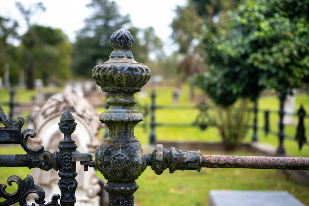 City Cemetery in Natchez MS