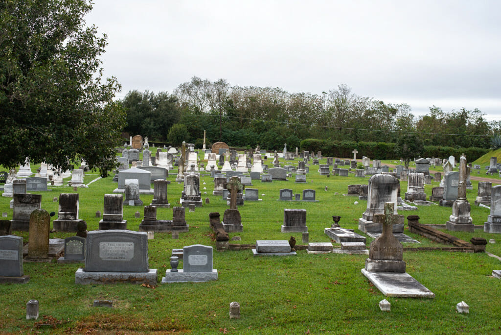 The City Cemetery is a must see Natchez attraction. The cemetery is known for its art, iron and statuary.