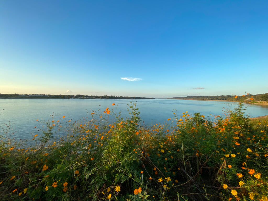 View of the Mississippi River in Natchez Mississippi. Read stories from Natchez