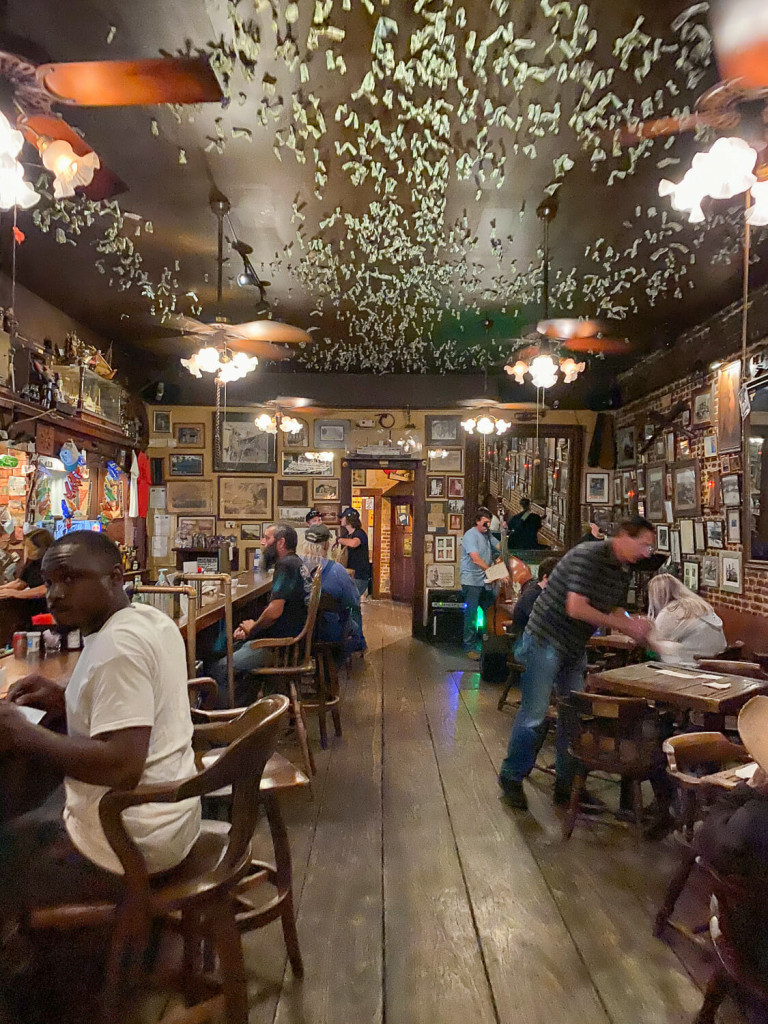 Under the Hill Saloon in Natchez MS