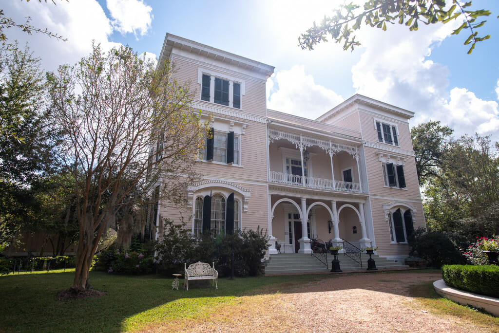 The Towers is one of the antebellum homes in Natchez MS that you must see