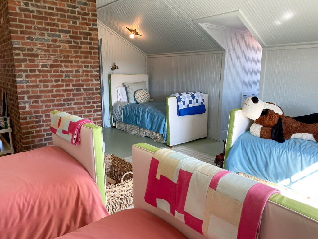 Children's room at the P. Allen Smith home