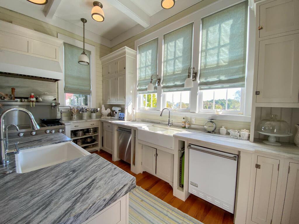 kitchen at the P. Allen Smith home