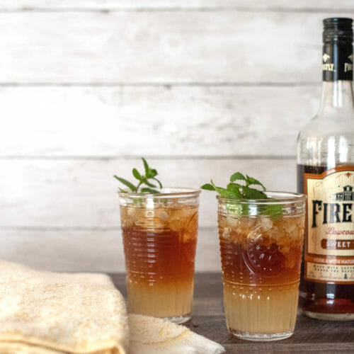 Picture of a Firefly vodka cocktail also known as a spiked Arnold Palmer
