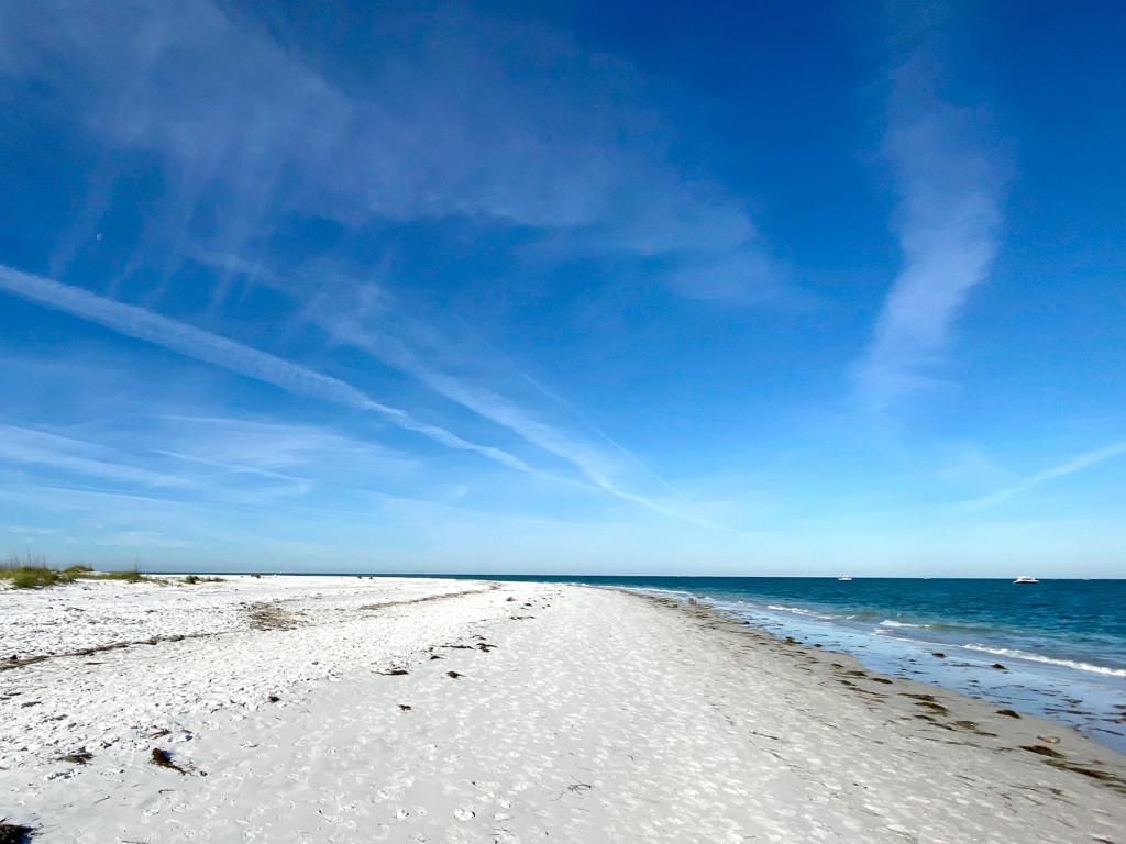 Gorgeous beach on Anna Maria Island. This is bean point.