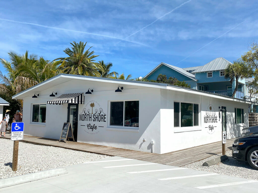 The north shore cafe. A fun and relaxing place to have coffee or tea on Anna Maria Island.