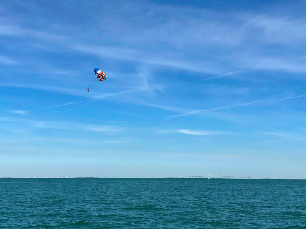 Parasailing is a great thing to do on Anna Maria Island!