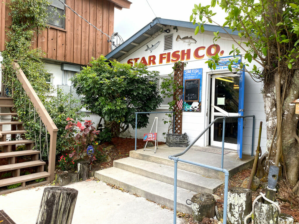 The Star Fish Company in the Fishing Village of Cortez