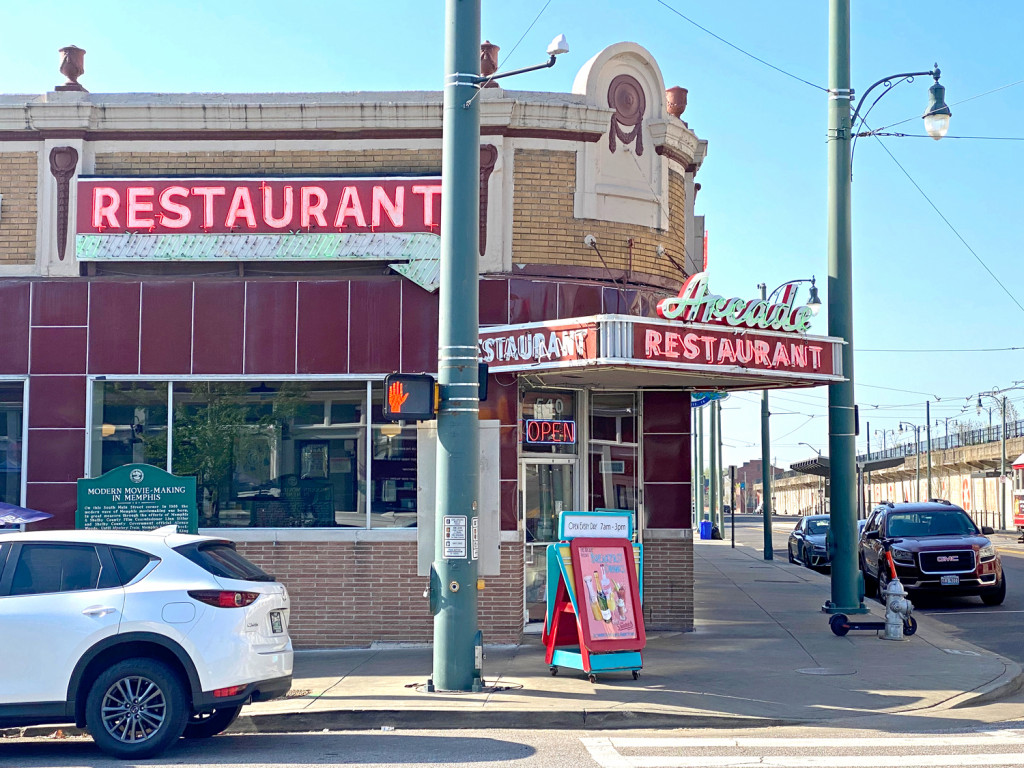 The arcade restaurant is the oldest cafes in Memphis