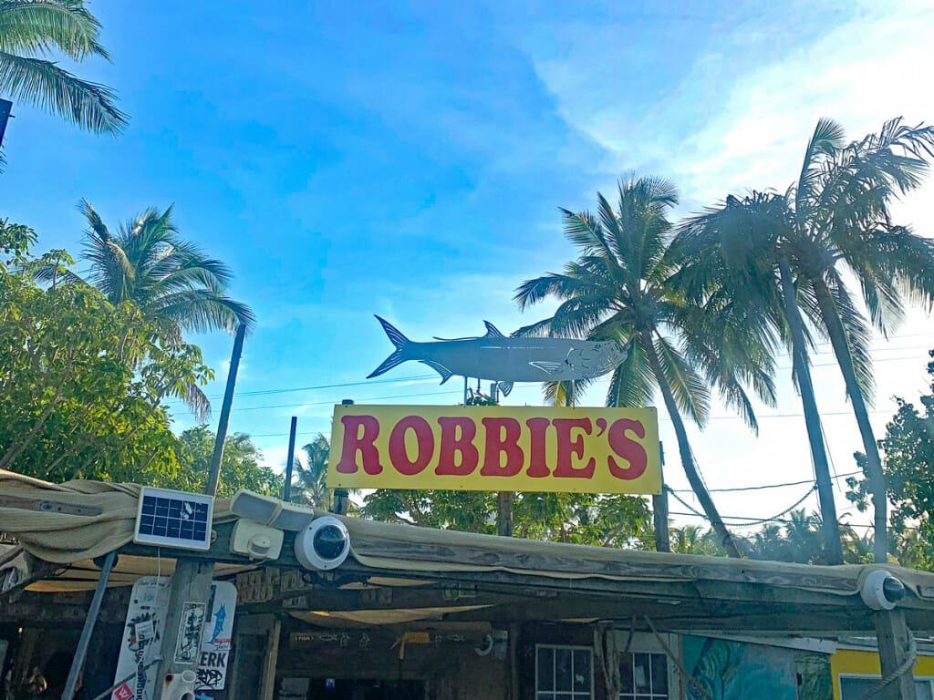 Robbies in Islamorada at the Florida Keys