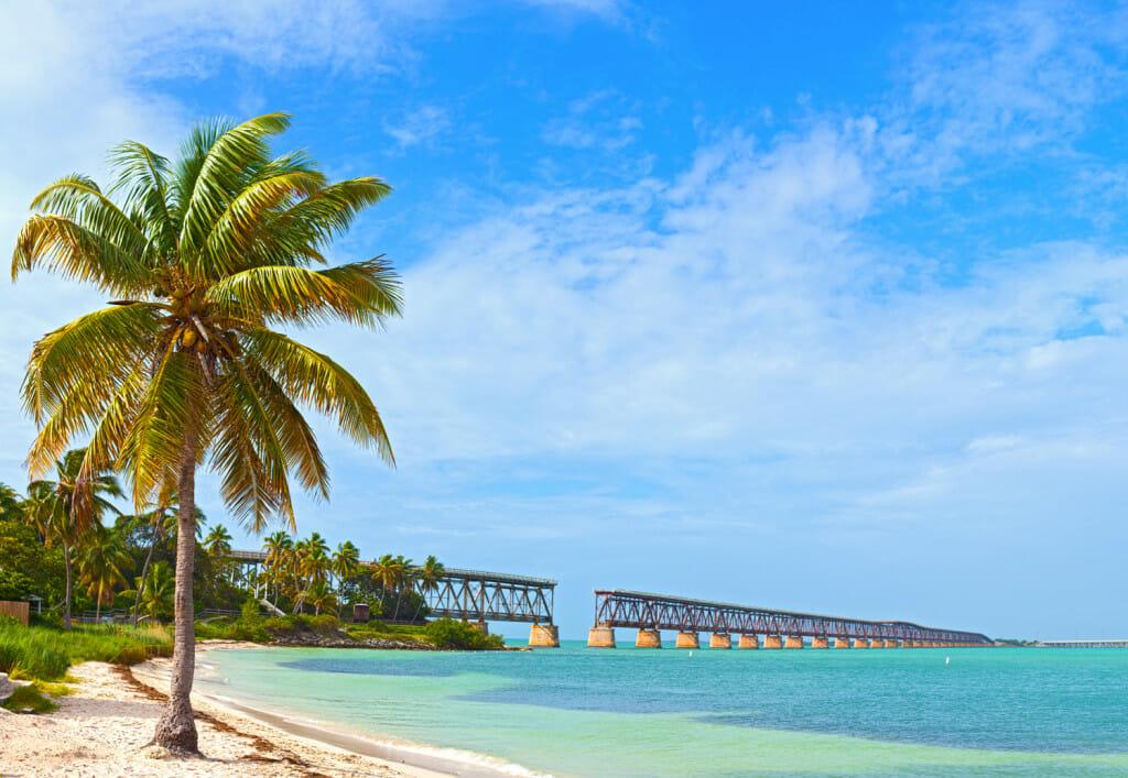 Bahia Honda State Park a beautiful beach in the Florida Keys