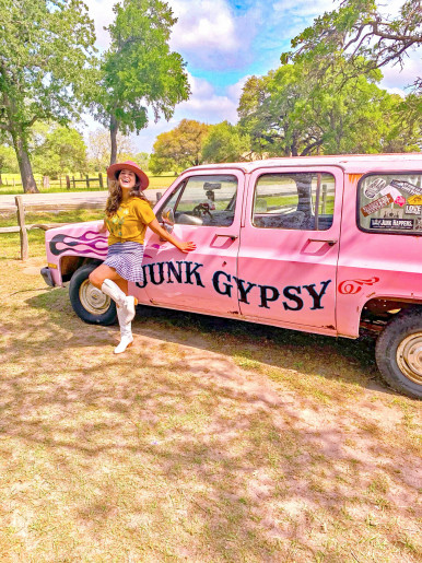 Outside of the Junk Gypsy