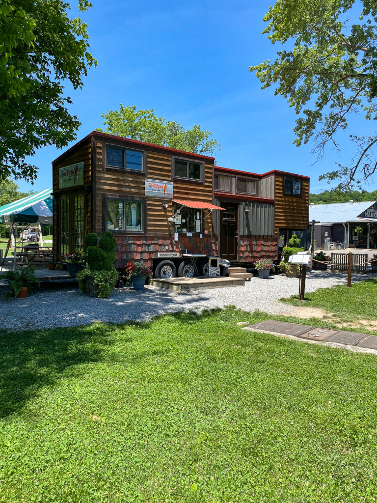 RedByrd Coffee is in a tiny house in Leiper's Fork, Tn
