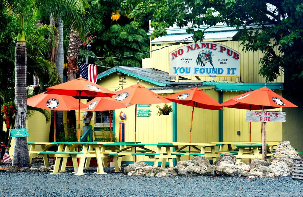 No name pub in the Florida Keys