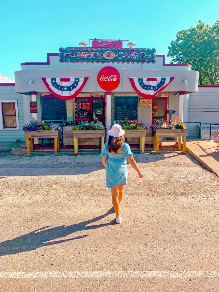 Royer's cafe is one of the best places to eat in Round Top Texas