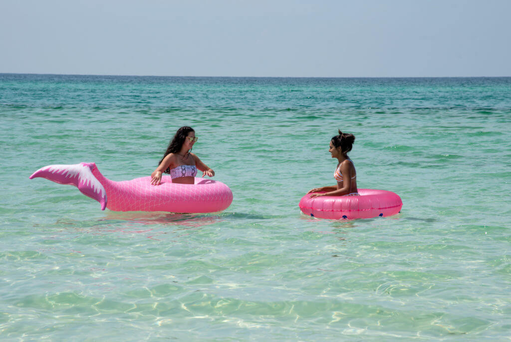 A floatie is one of the summer beach essentials