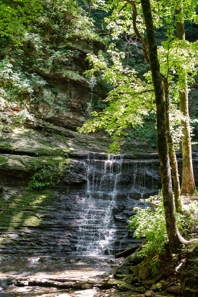 Jackson Falls is one of the best stops on the Natchez Trace Parkway