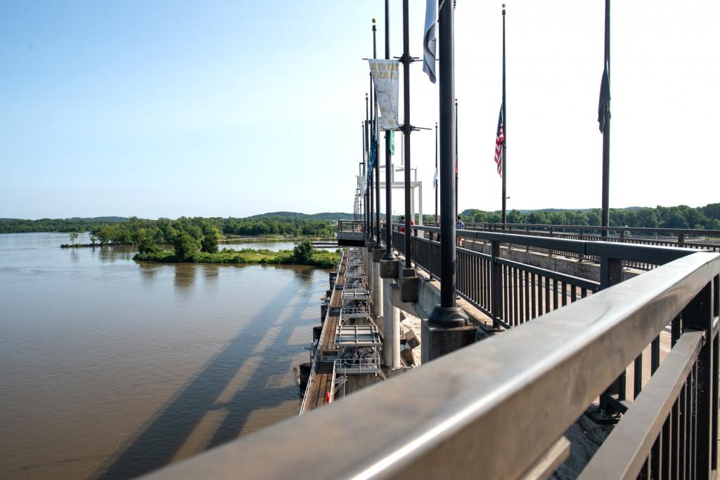 Pedestrian Bridge in Little Rock
