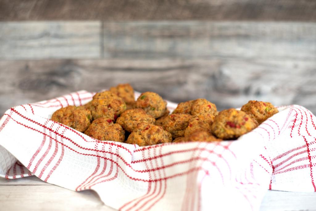 Pimento Cheese Sausage Balls Recipe