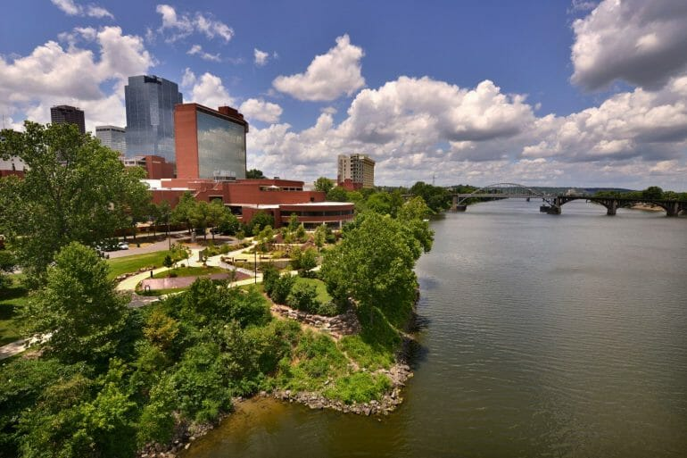 View of Little Rock