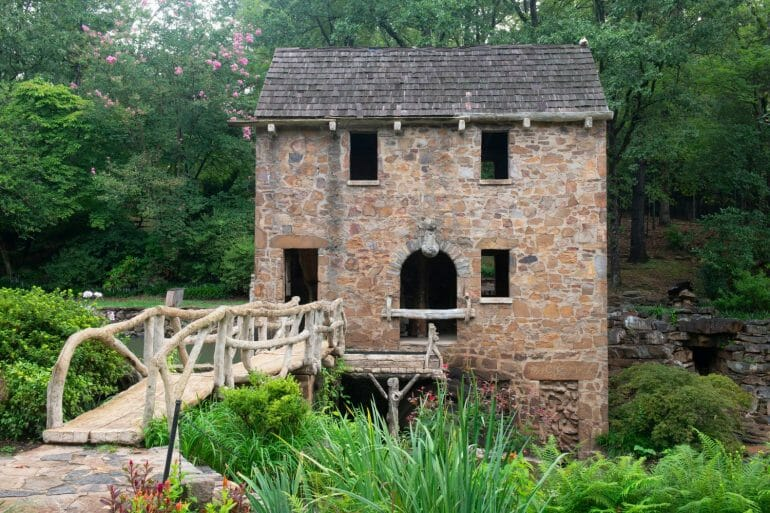 The old mill in North Little Rock
