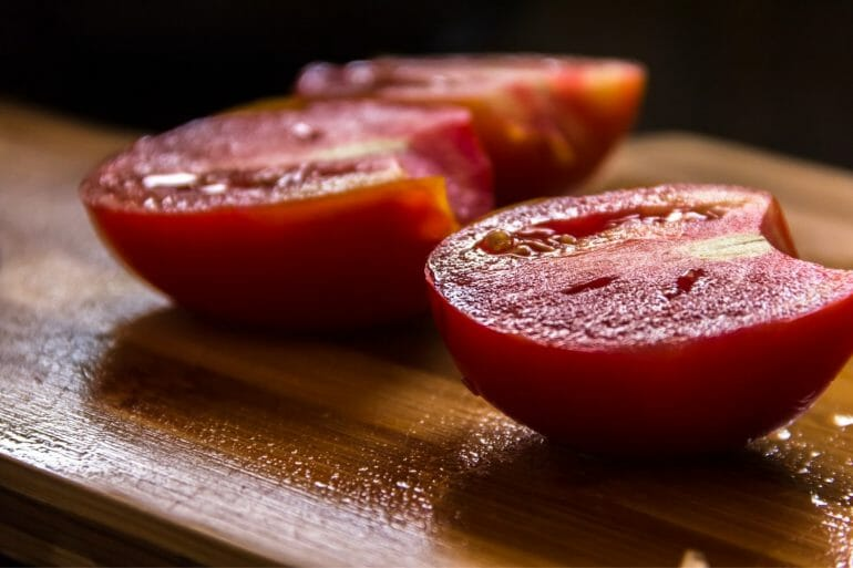 A tomato knife is one of the essentials items in a southern kitchen