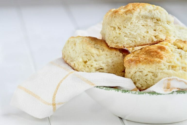 A biscuit cutter is a must have item for the southern kitchen. It is one of the southern kitchen essentials.