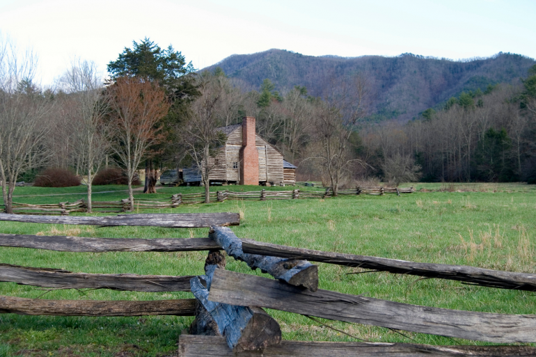 A visit to Cades Cove is one of the best things to do in Townsend, Tn